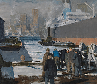 George Bellow Men of the Docks